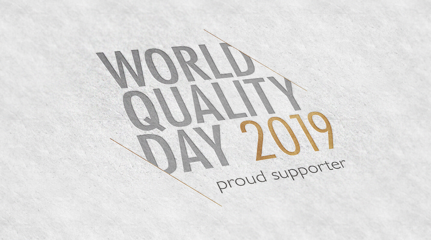World Quality Day 2019: Proud Supporter
