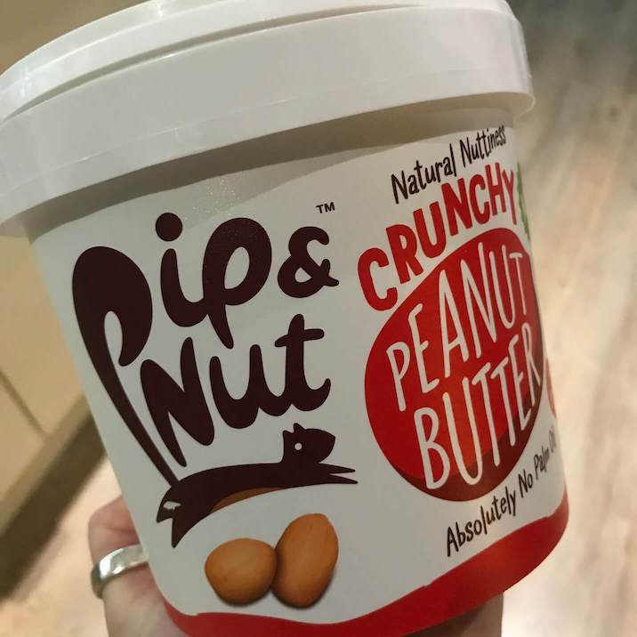 plastic tub peanut butter