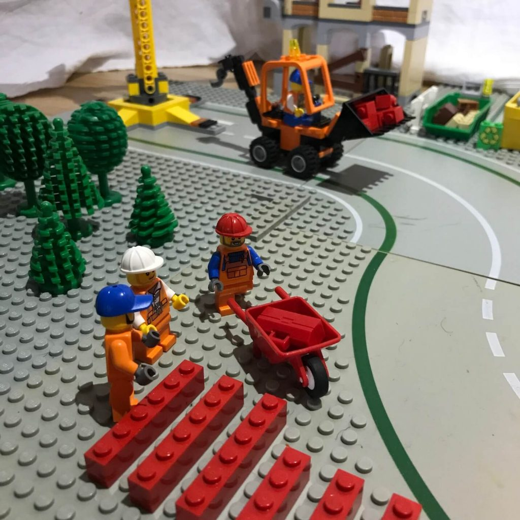 Lego figures used to illustrate top tips for an ISO450001 migration