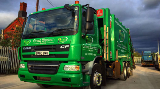 GWR Recycling Lorry